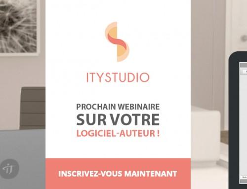 DistriSoft présentera ITyStudio lors de son webinaire du jeudi 21 janvier !